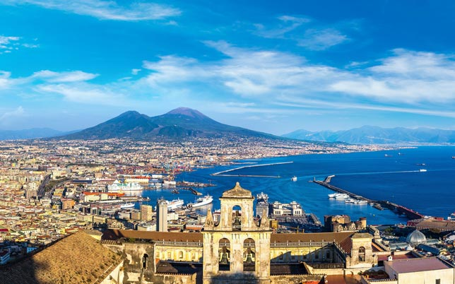 Tour of Naples with Vesuvius